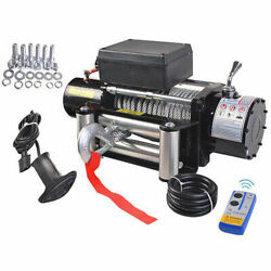 Classic 9500lbs 12V Electric Recovery Winch Truck SUV Wireless Remote Control $39.99