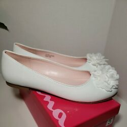 Nina Girls White Shoes Sz 5M $23.90