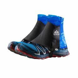 TRIWONDER Reflective Trail Gaiters Running Gaiters Low Ankle Gators with UV P... $25.15