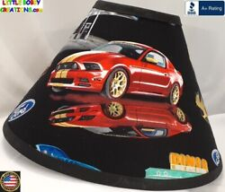 FORD MUSTANG LAMP SHADE Clip On $65.95 LAST ONE $65.95