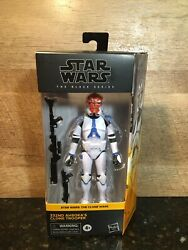 STAR WARS BLACK SERIES THE CLONE WARS 332ND AHSOKA#x27;S CLONE TROOPER IN HAND $43.97
