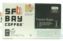 SF Bay Coffee French Dark Roast 100 Environmentally Friendly Compostable K Cups $22.99