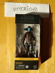 Star Wars: The Black Series Cad Bane #06 The Clone Wars 6 inch Figure IN HAND $39.00