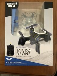Sharper Image DX 1 Rechargeable 2.4GHz Micro Drone With Gyro Stabilization $18.00