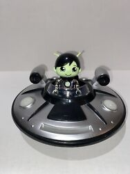 Ryan#x27;s World Vehicle Racers UFO Spaceship Silver Bonkers Light Up Sound Figure $19.93