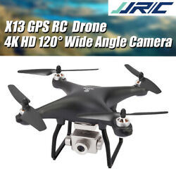 JJRC X13 5G WiFi Camera Brushless Motor GPS RC Quadcopter FPV Racing Drone Toys $152.95
