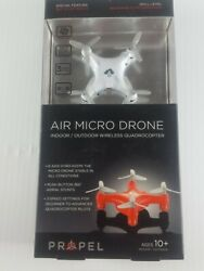 Propel Air Micro Mini Pocket Drone RC Micro Quadrocopter 3 Speed USB New $18.00