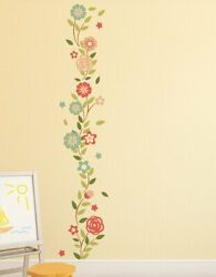 Cute Wall Flowers Wall Sticker Decal Mural Home Room Decor Gift $13.99