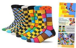 Novelty Socks For Men Fun Colorful Fashion Casual Soft Crew Socks Gift For Man $18.55