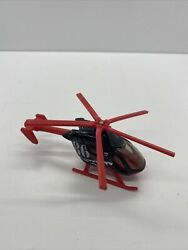 Matchbox Airblade 2009 Mattel Black Red Rescue Helicopter A #86 $8.99