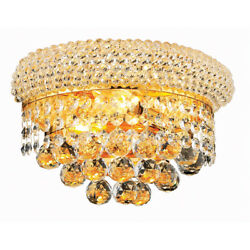 CRYSTAL BATHROOM BEDROOM HALLWAY LIVING DINING ROOM HOME WALL SCONCE 2 LIGHT 12quot; $137.80