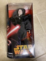 Darth Sidious Revenge of the Sith 12quot; STAR WARS Collector Series 1 6 Scale $24.99