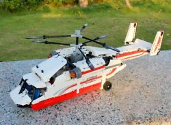 REMOTE CONTROL HELICOPTER RC HEAVY DUTY RESCUE FLYING AIRCRAFT BUILDING SET GIFT $78.90
