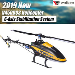 Walkera V450D03 6CH Fly 6 Axis Stabilization System Single Blade BNF Helicopter $297.79