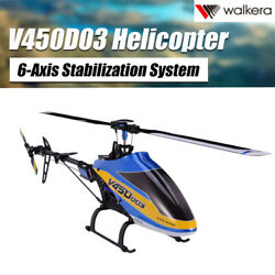 Walkera V450D03 6CH 6 Axis Stabilization System Single Blade BNFRC Helicopter $292.43