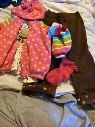 Gymboree Girls Outfit 3pc Plus Socks Gingerbread Size 3T $19.66