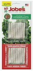 Fertilizer Spikes For Houseplants Jobes 50 Spikes NEW In Package $6.25