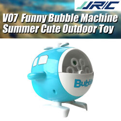 JJRC V07 Summer Bubble Automatic Helicopter Kids Toys Electric Bubble Machine $24.83