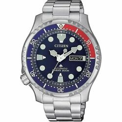 Citizen Promaster Automatic Divers Stainless Blue Dial Men's Watch NY0086 83L $239.95