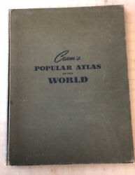 Map Atlas Cram#x27;s Popular Atlas of the World $20.00