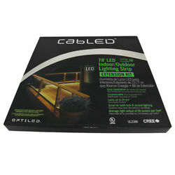 New CabLED 78 FT. LED Indoor Outdoor Lighting Strip Combo