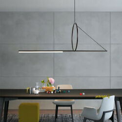 Contemporary Kitchen Island Chandelier Pendant Light Dining Room Ring LED Lamp $229.99