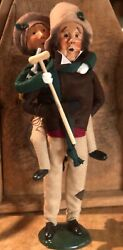 Byers Choice Bob Cratchit and Tiny Tim First edition 1990 new $47.00