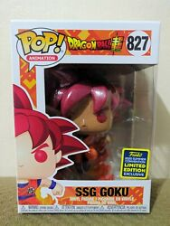 Dragon Ball SSG Goku SDCC Shared Exclusive Funko POP Mint Condition $39.99