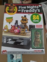 McFarlane Toys Five Nights at Freddy#x27;s Office Desk Small Set New In Hand FNAF $32.99