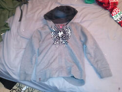 hawk size m 10 12 hoodie jacket preowned used $7.00