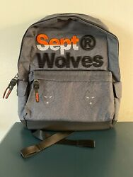 SEPTWOLVES Laptop Backpack Computer Travel Casual Daypack College Clothing NEW