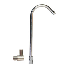 Add On Chrome Spout Elbow Spout Adapter for Portable Countertop Filter Systems $11.50