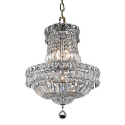 CRYSTAL CHANDELIER PENDANT DINING ROOM KITCHEN CEILING LIGHTING LAMP 6 LIGHT 19quot; $346.00
