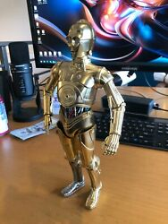 "1 6 12"" STAR WARS C 3PO Bandai Diecast Perfect Model Chogokin FIGURE ONLY $349.00"