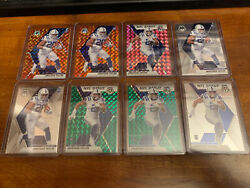 Lot of 8 2020 Panini Mosaic JONATHAN TAYLOR RC and DEBUT INVEST $25.00