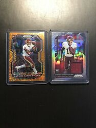 2020 Panini Prizm Antonio Gandy Golden Orange Lazor RC and Silver Prizm Jersey $15.00
