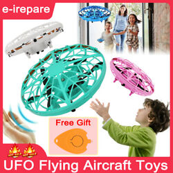 Hand controlled Induction UFO Aircraft Flying Toys Mini Drone Kids Xmas Gift HOT $39.49