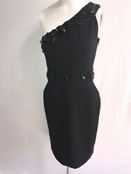 DIANE VON FURSTENBURG Black quot;SOCIETESquot; DRESS Classic Size 2 Cocktail Party $65.00