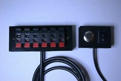 Neptune Apex Breakout Box w Push Terminals custom 2 switch panel choose from 3 $31.49