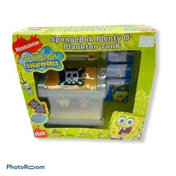 Nickelodeon SPONGEBOB SQUAREPANTS quot;Plenty O Plankton Tankquot; Aquarium Toy NEW $23.99