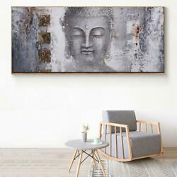 WANGART Large Size Buddha Zen Wall Art Pictures Canvas Paintings Print Poster O AU $33.42
