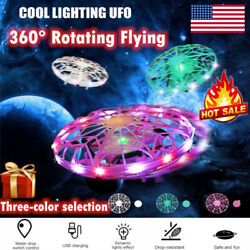 360°Mini Drones Rotating Smart Mini UFO Drone for Kids Flying Hand Control Toy $16.99
