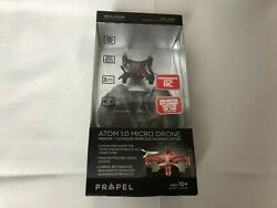 NEW Atom 1.0 Micro Drone Indoor Outdoor Wireless Quadrocopter RED Sealed $14.99