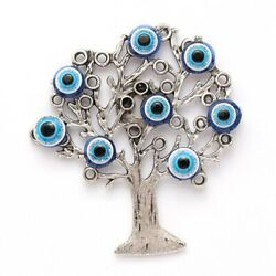 Lucky Eye Life Tree Charms Evil Eye Wall Room Magnets Jewelry Decal Art $6.99