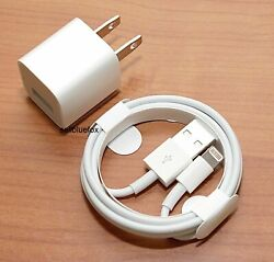 iPhone charger USB cable amp; wall cube for IPHONE 5 6 6 7 7 8 X XR $7.99