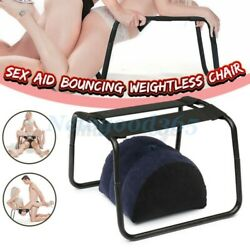 Sex Pillow Weightless Aid Bouncer Inflatable Chair Love Position Stool Bouncer $69.59