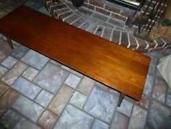 Brown Saltman Mid Modern Coffee Table In The Style of Paul Mccobb $300.00