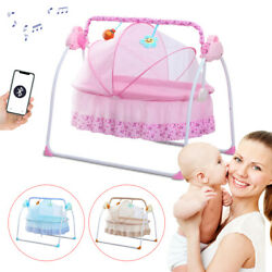 Multi Function Musical Electric Swing Bouncer Baby Shake Bed BB Cradle Bluetooth $103.00