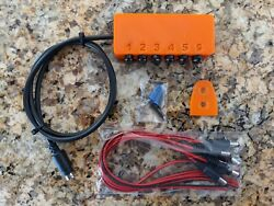 Neptune Apex Breakout Box DC Jacks w 6 cable leads included Hidden Mounting $32.39