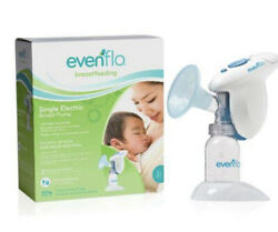 Evenflo Single Lightweight Portable Electric Breast Pump BPA Free NEW Open Box $25.00